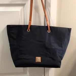 Dooney & Bourke/Navy Blue/Nylon tote